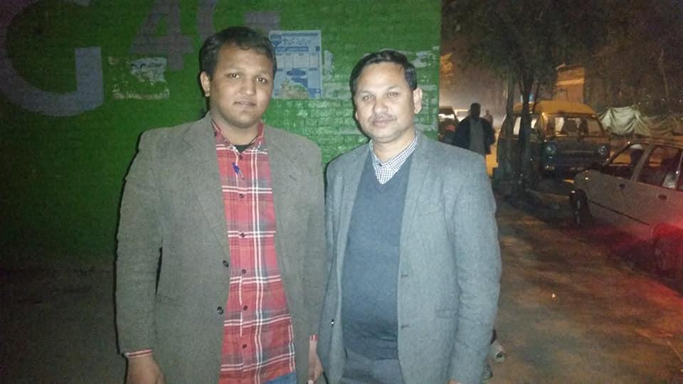 First time meet with Pastor Maqsood Nazar in Islamabad Feb 2019