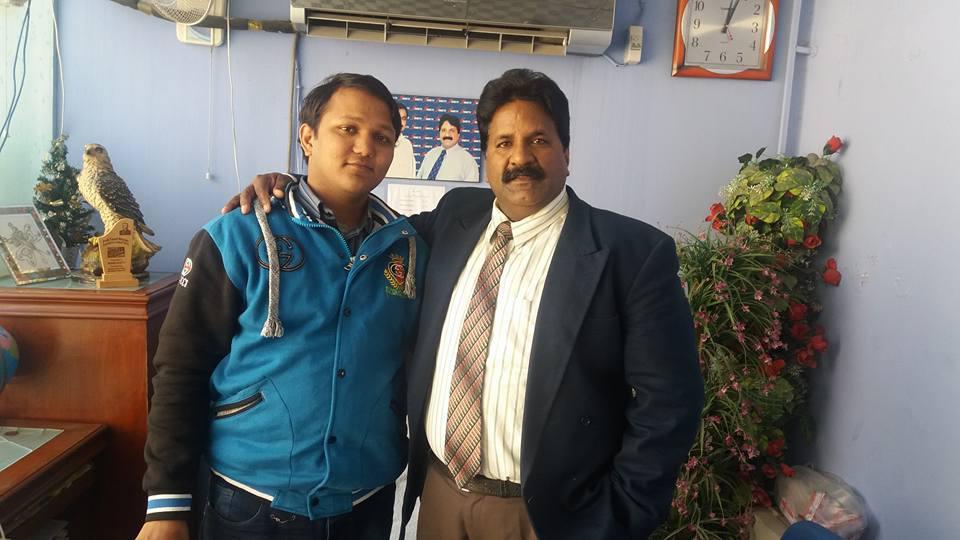 Pastor Munir Bhatti and Evangelist Sagar Gill at Issac TV