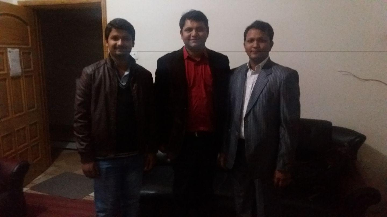 Pastor Abid Rogers Bhatti, Evangelist Shoaib Sharoon and Evangelist Sagar Gill
