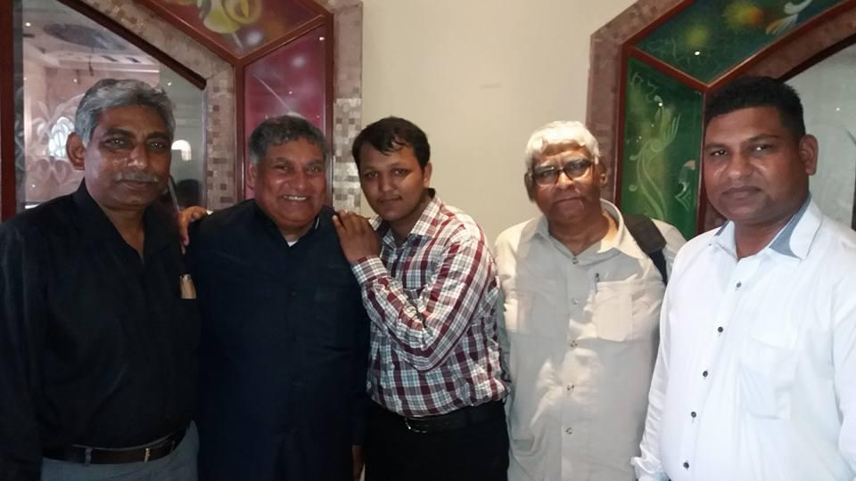 With my teachers Pastor John and Alder Arshad