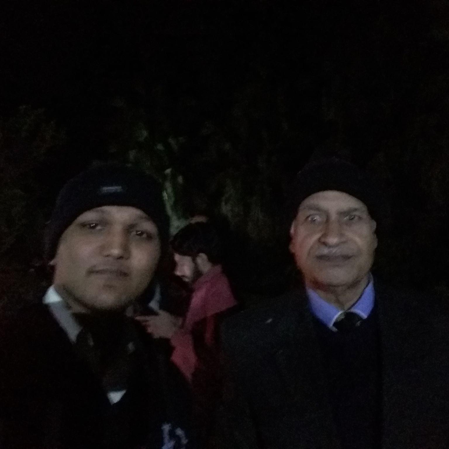 Late Prof. Yousaf Nayyer and Evangelist Sagar Gill